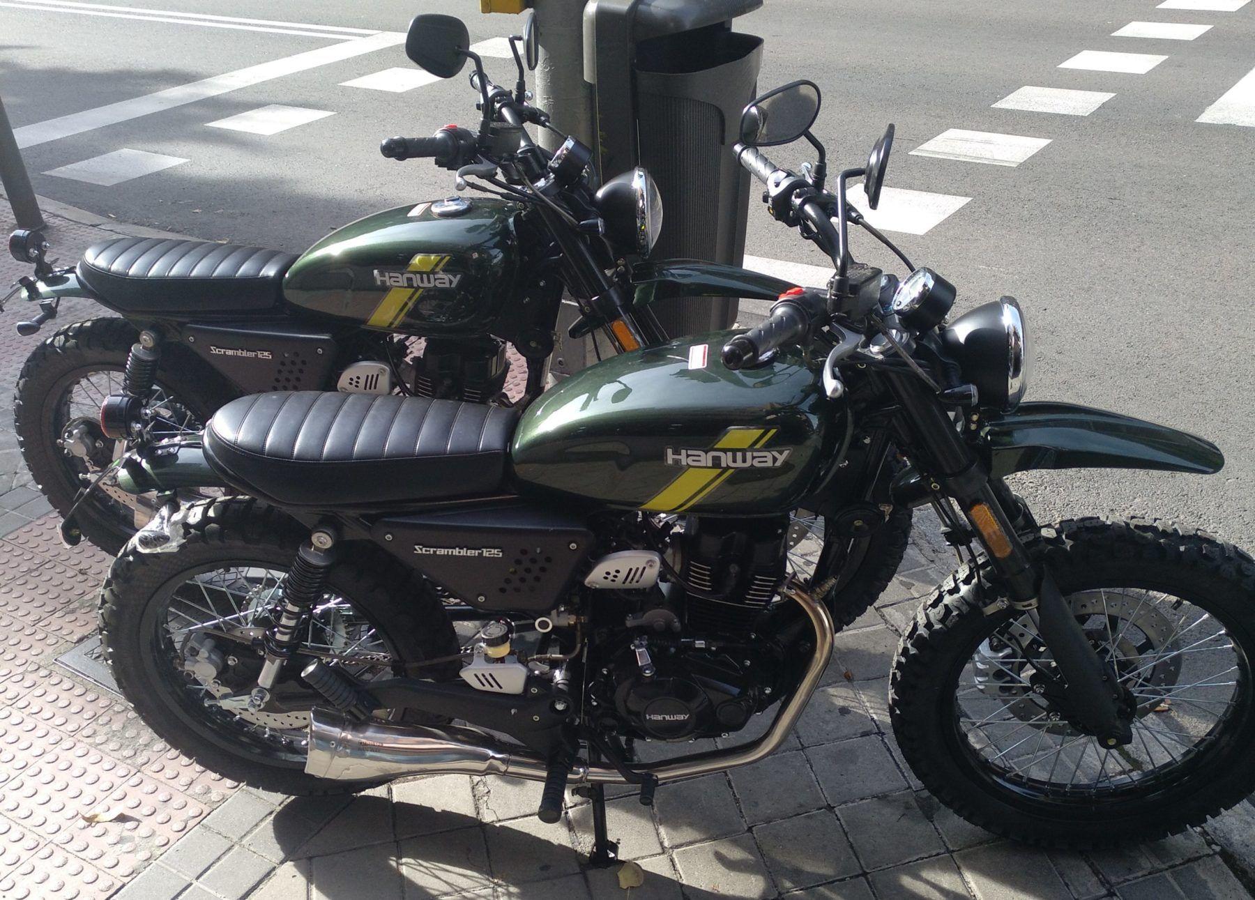Motos compradas en Madrid
