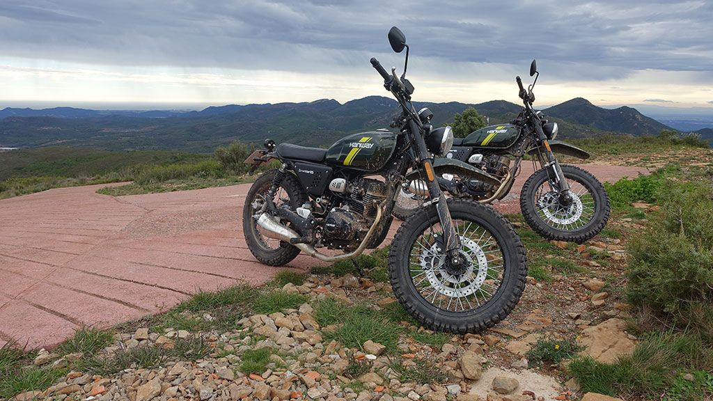 Motos arriba del Pico