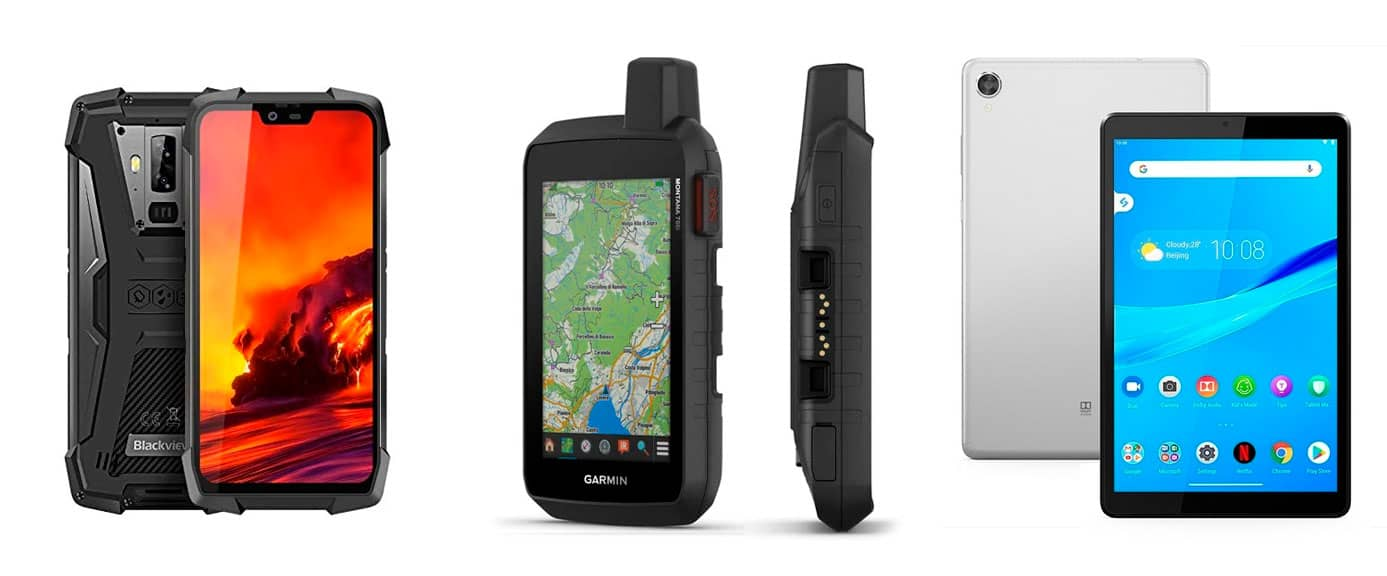 Móvil, tablet o GPS para la moto